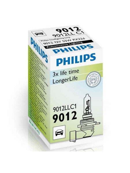 ŽARNICA PHILIPS HALOGEN 9012LL HIR2 LONG LIFE C1