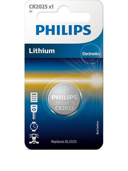 BATERIJA PHILIPS LITIJ CR2025 3V