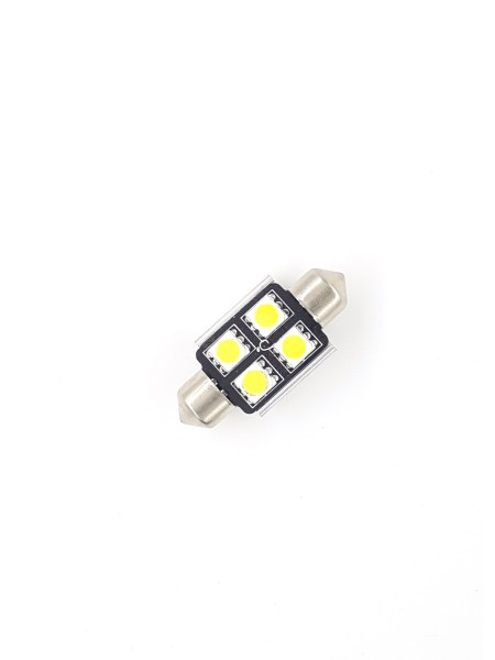ŽARNICA LED FESTON C5W 4SMD BELA 5000K 36MM