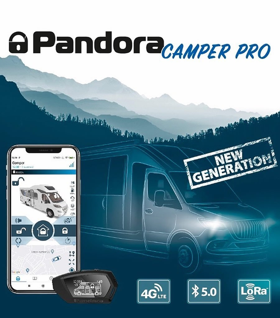 CAMPER ALARM PANDORA CAMPER PRO GSM/GPS