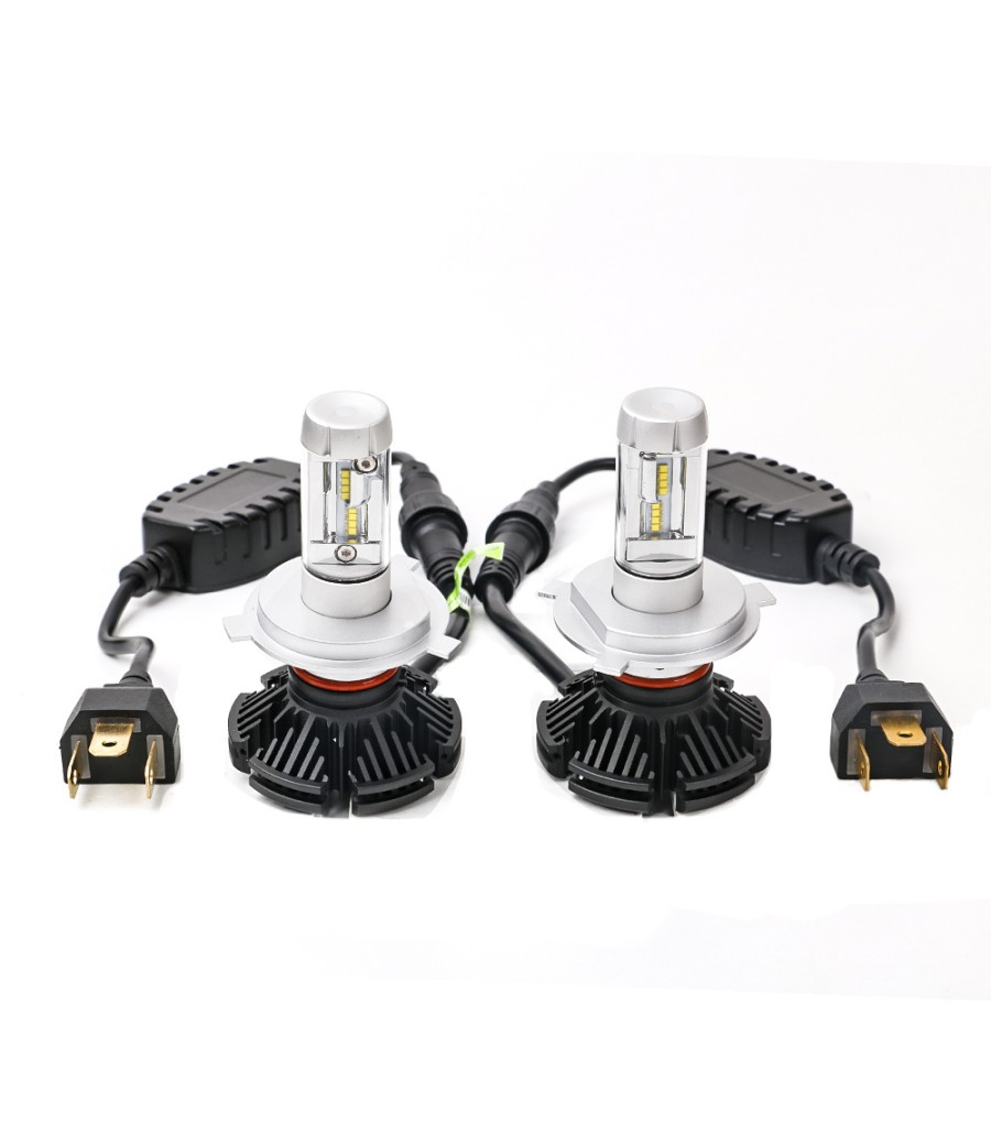 LED ŽARNICE H4 KIT KOMPLET PHILIPS ZES 5000lm 6500K
