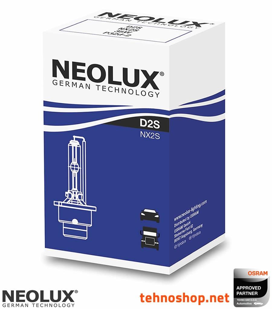 H3 Neolux Clear Standard Halogen Front Fog Lamp Light Beam Replacement Bulbs