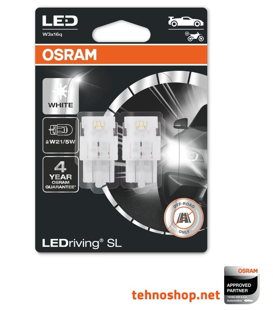 7515-02B 580//380W - W3x16q OSRAM Standard Bulbs W21//5W 12V 21//5W