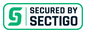 Secured by sectigo. Varovano z SSL certifikatom SECTIGO.